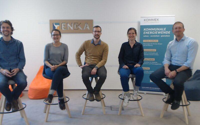 Eneka Energie Karten Team KOMMEK Kommunale Energiewende MakeItMatter-Award